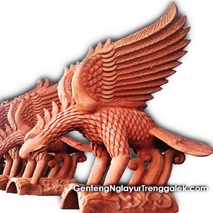 Hiasan Genteng Garuda